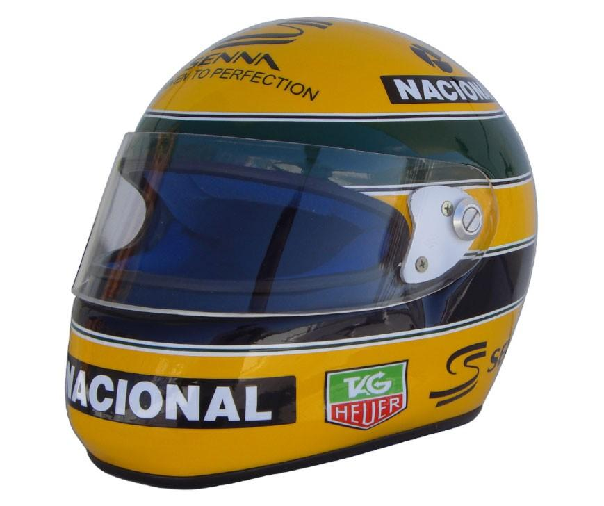 casque ayrton senna bercy 1993 boutique. Black Bedroom Furniture Sets. Home Design Ideas