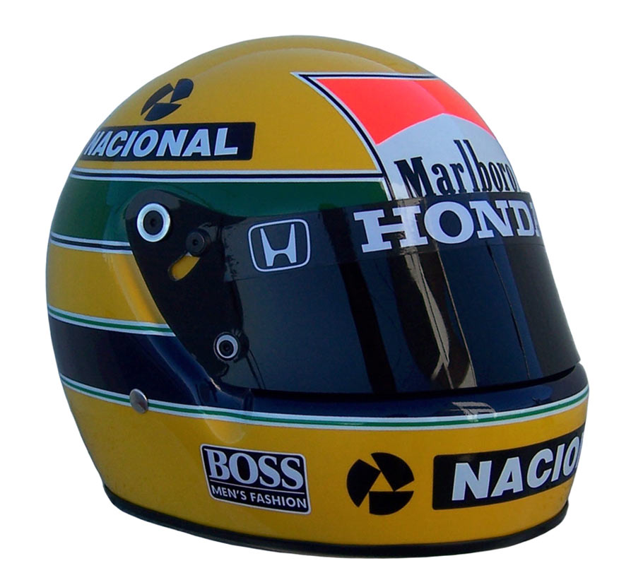 casque ayrton senna 1988 boutique. Black Bedroom Furniture Sets. Home Design Ideas