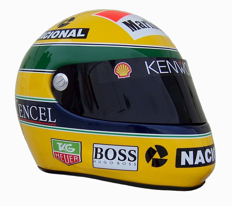 casque ayrton senna 1993 boutique. Black Bedroom Furniture Sets. Home Design Ideas